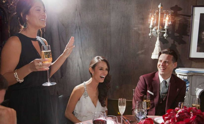 How to do an introducing speech at the wedding